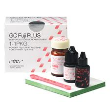 GC Fuji PLUS™ Luting Cement, Powder, Liquid and Conditioner (1:1:1) Kit