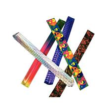"Slap Bracelet Assortment, 9"", 50/Pkg"