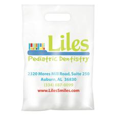 "Full-Color Custom Supply Bags, 7-1/2"" W x 9"" H, 250/Pkg"