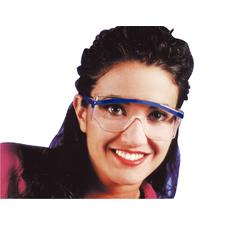 Uvex Astro 3000S Slim Glasses, Clear Lens
