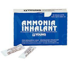 Ammonia Inhalant – 0.4 cc Ampules, 10/Pkg
