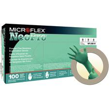 NeoPro® Chloroprene Exam Gloves, 100/Pkg