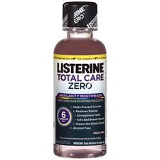Listerine® Total Care Zero™ Anticavity Mouthwash