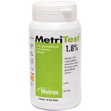 Bandelettes MetriTest™ – 1,8%, 60bandelettes/bouteille, 2bouteilles/emballage