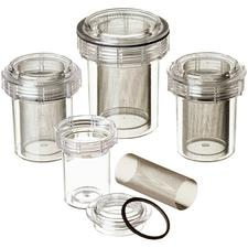 "Evac-u-Trap™ 2200  Disposable Canister – Internal Thread, 2-3/4"" x 3-5/8"", 12/Pkg"