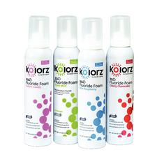 Kolorz® 60 Second Fluoride Foam – 4.4 oz Can, 2/Pkg