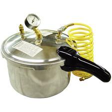 8 QT Pneumatic Curing Vessel/Pressure Pot