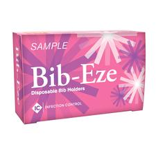 Bib-Eze Disposable Bib Holders, Sample