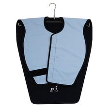 Lead-Free X-ray Aprons – Adult Panoramic Poncho, Blue Microfiber