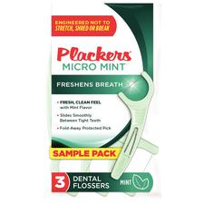Plackers® Micro Mint™ Dental Flossers