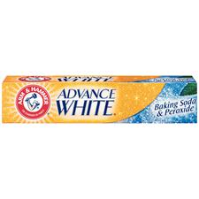 Arm & Hammer® Advance White® Baking Soda and Peroxide Toothpaste – 0.9 oz Tubes, 72/Pkg