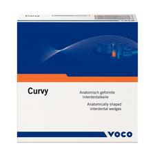 Curvy Anatomical Shaped Interdental Wedges, 312/Box