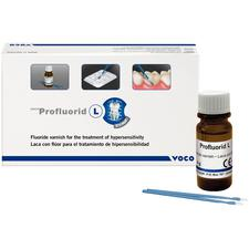 Profluorid L 5% Sodium Fluoride Liquid Varnish, 4 g Bottle with Easy Brushes and Accessories
