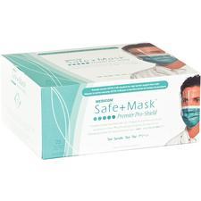 Safe+Mask® Pro-Shield Masks – ASTM Level 3, 25/Pkg