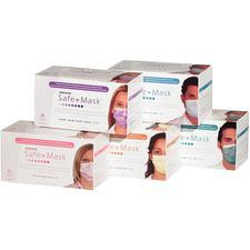 Safe+Mask® Premier Low Barrier Masks – 50/Box