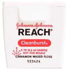 REACH® Cleanburst® Floss – Cinnamon, 5 yd/Pkg, 144 Pkg/Case