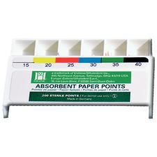 Hygenic® White Paper Points – Standard ISO Sized, Drawer Box, 200/Pkg