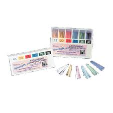 Hygenic® SpectraPoint® Paper Points – Color-Coded, Absorbent, Bulk Package