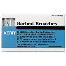 Barbed Broaches – Color Coded, 21 mm, 30/Pkg