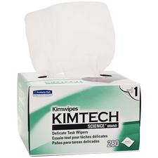 Kimtech Science® Kimwipes® Delicate Task Wipers – 1-Ply, White