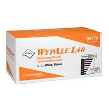 """WypAll® Professional Towels – White, 12"""" x 23"""", 45 Sheets/Pkg, 12 Pkg/Case"""