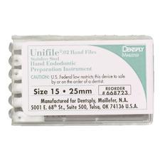Limes à main Unifiles® en acier inoxydable - 25 mm, 6/emballage