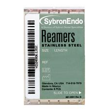 Reamers – Plastic Handle, Standard Color Coded 08-40, 21 mm, 6/Pkg