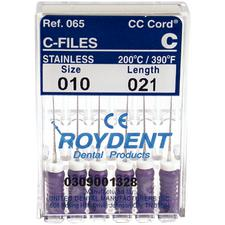 C-Files – Stainless Steel, 6/Pkg