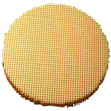 "Honeycomb Round Furnace Tray, 2-7/8"" Diameter x 1/2"" Thick"