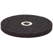 "Black Utility Grinding Wheel – 3"" x 1/4"" With 1/4"" Lead Hole"
