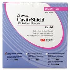 CavityShield™ 5% Sodium Fluoride Varnish, Primary Dentition