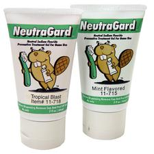 NeutraGard® 1.1% Neutral Sodium Fluoride Gel – 2 oz Tube, Tropical Blast™