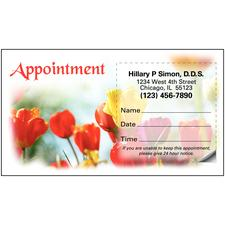 "4 Seasons Assortment Sticker Appointment Card, 3-1/2"" W x 2"" H, 500/Pkg"