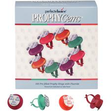 Perfect Choice® Prophy Gems™ Prophylaxis Paste, 100 (2 g) Rings