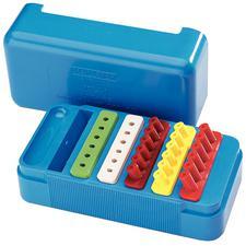 Instrument Organizer – Sterilizable Plastic, Empty, 10 cm x 5 cm x 4.5 cm