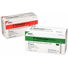 Xylocaine®, dentaire 2%, avec épinéphrine – chlorhydrate de lidocaïne, 50/emballage