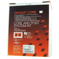 Gradia® Core Build-Up Material, Post & Core System Kit