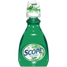 Scope® Mouthwash – 1 Liter Bottle, Original Mint, 6/Pkg