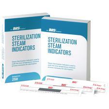 Rubans indicateurs IMS® pour stérilisation à la vapeur, 250/boîte