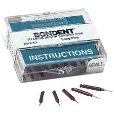 Bondent® Dentin Bonding Pins, Bulk Kits