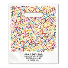 "Full-Color Supply Bag, Nonpersonalized, 9"" W x 13"" H, 250/Pkg"