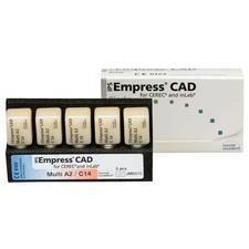 Blocs IPS Empress® CAD polychromatiques, 5/emballage