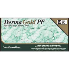DermaGold™ PF Latex Exam Gloves – Powder Free, 100/Box, 10 Boxes/Case