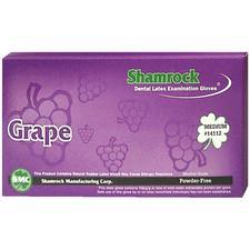 Latex Exam Gloves Grape Flavored – Powder Free, 100/Box