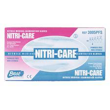 NITRI-CARE® Nitrile Exam Gloves, 100/Pkg