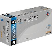 VitalGard® Nitrile Exam Gloves – Powder Free, Latex Free, 100/Box