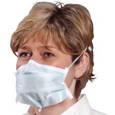 Critical Cover® PFL® Headband Face Masks – ASTM Level 1, 50/Box
