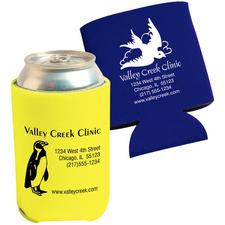 "Collapsible Can Cooler, Personalized, 2-3/4"" W x 3"" H, 250/Pkg"