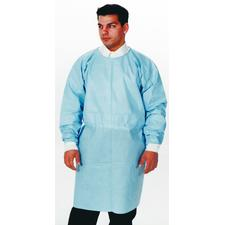 Dual-Fabric™ Surgical Gowns – Blue, 10/Pkg