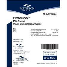 Patterson® Die Stone – Blue